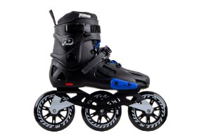 Patins HD Inline Evolution Black/Blue - Urban Freestyle rodas 110mm