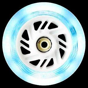3 Rodas Traxart Inline com LED 110mm / 85A - Branco