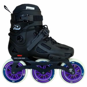 Patins Inline 3 Rodas 110mm Hd Evolution Custom - Koncept Inline