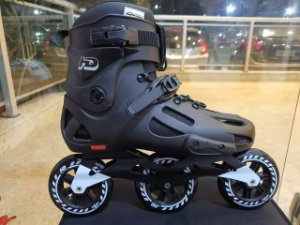 Patins Hd Evolution 43 BR / Semi-novo / Abec9 110mm 3 Rodas