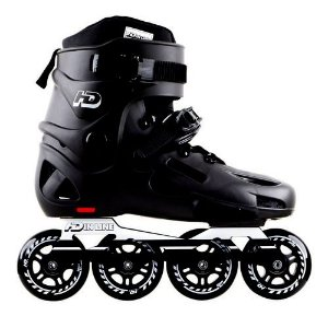 Patins HD EVOLUTION 80mm - PRETO 38 BR