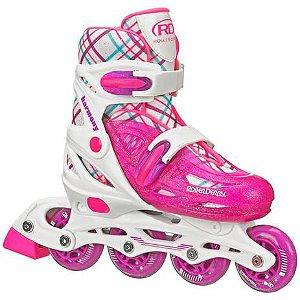 Patins inline Ajustável HARMONY GIRL Roller Derby - 32 ao 36