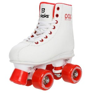 Patins Quad Divoks POP ONE -  white