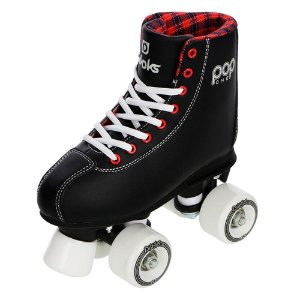 Patins Quad Divoks POP ONE - PRETO