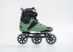 Patins Hd inline WAVE 3W 110mm / 85a / abec9 (Modelo 2021)