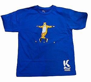 Camiseta Jeeh Vieira - Jeerafa Azul