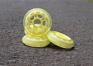 4 Rodas 80mm (82a)  / Amarelo