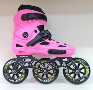 Patins Skull Hd inline / Custom IS Urban 110mm - Rosa