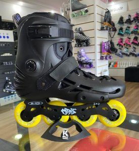 Patins Micro MT  - Preto custom / 80mm 85a