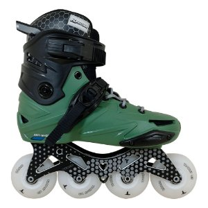 Patins Hd inline WAVE Custom Base Hibrida 80mm LED