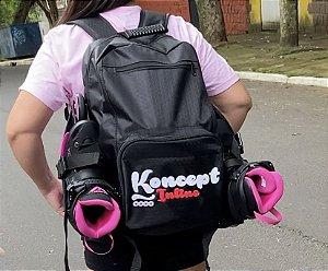 Mochila Koncept para carregar patins - Logo