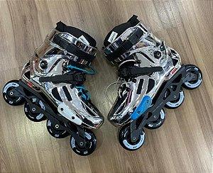 Patins Chrome USADO com rodas e base nova - 40 BR