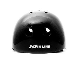 Capacete HD Inline - Preto
