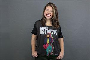 Camiseta Plus Size Toni Rock