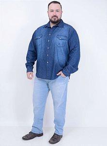 Calça Jeans Delavê Masculina