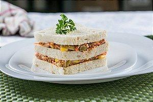 Sanduíche de Atum com cenoura