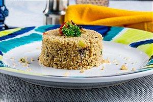 Risoto de quinoa com tomate seco