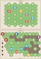 Age of Steam Deluxe: New England/Pittsburgh & Switzerland - MAPA