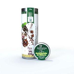 Chá Quentãonzinho de Hibiscus  80g (Lata)