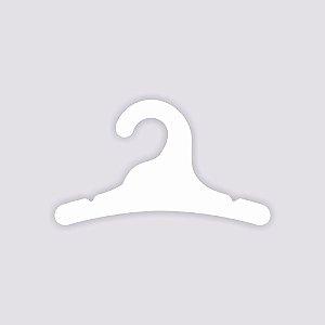 Cabide Infantil / Capa Branca / CS100