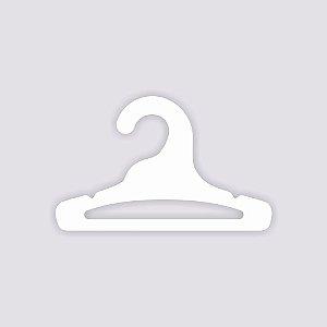 Cabide Infantil Aberto /  Capa Branca / CS101