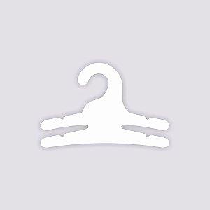 Cabide Multifuncional - 2 Ganchos / Capa Branca / CS113