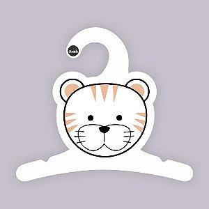 Cabides Bebê Tigre / Capa Branca / CS118