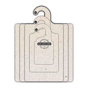 Kit Gabarito Personalizado com sua logo / Natural CS506