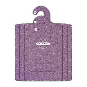 Kit Gabarito Personalizado com sua logo / Color Face / Lilás -  CS506