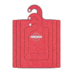 Kit Gabarito Personalizado com sua logo / Color Face / Vermelho -  CS506
