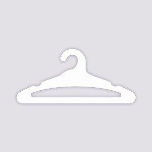 Atacado - Cabide Adulto Aberto - Capa Branca - CS105