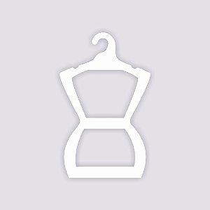 Atacado - Cabide Silhueta Juvenil - CS108 - Capa Branca