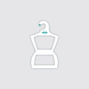 Cabide Personalizado com sua logo - Silhueta Infantil - Capa Branca -  CS107