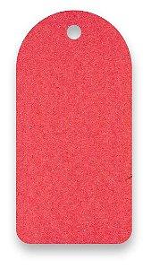 Tag - Etiqueta para Roupas - Color Face - Vermelho -  CS300