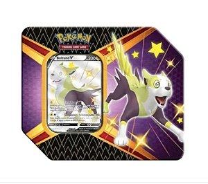 Lata Pokémon: Destino Brilhantes Copag Boltund V