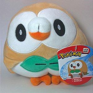 """Pokémon Rowlet 8"""" - Pelúcia colecionável"""