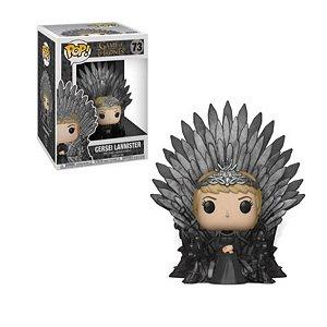 Pop Funko: Game of Thrones- Cersei Lannister no Trono de Ferro