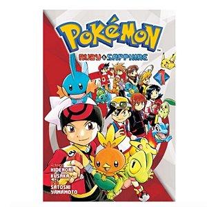 Mangá Pokémon Ruby & Sapphire - Volume 1