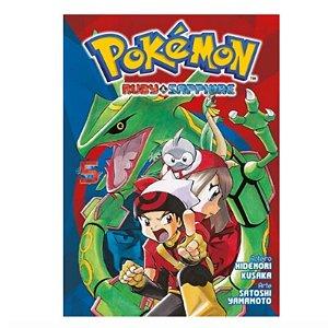 Mangá Pokémon: Ruby & Sapphire - Volume 5