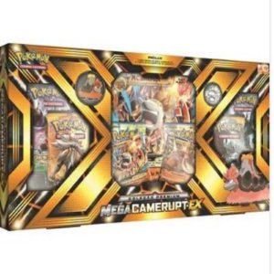 Pokémon Sol e Lua - Box Coleção Premium - Mega Camerupt-EX