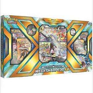 Pokémon Sol e Lua - Box Coleção Premium - Mega Sharpedo-EX