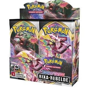 Pokémon Espada e Escudo Edição 2: Box Display Rixa Rebelde