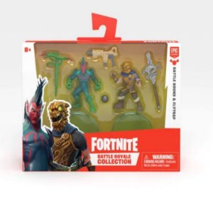 Fortnite Mini Figuras Battle Hound e Flytrap