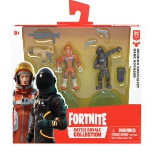 Fortnite Mini Figuras Mission Specialist e Dark Voyager