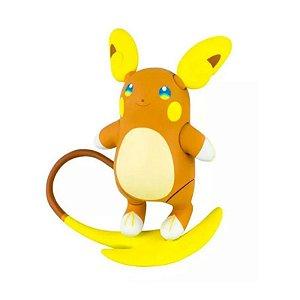 Pokémon - 1 mini figura  - Articulada - Alolan Raichu
