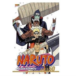 Mangá Naruto Gold - Volume 50
