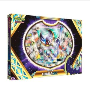 Box Pokémon Lunala Gx