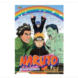 Mangá Naruto Gold - Volume 54