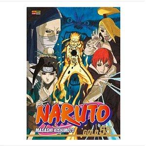 Mangá Naruto Gold - Volume 55