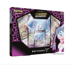 Pokémon Box Coleção Caminho Do Campeão Hatterene